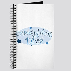 """Crimefighting Diva"" [blue] Journal"